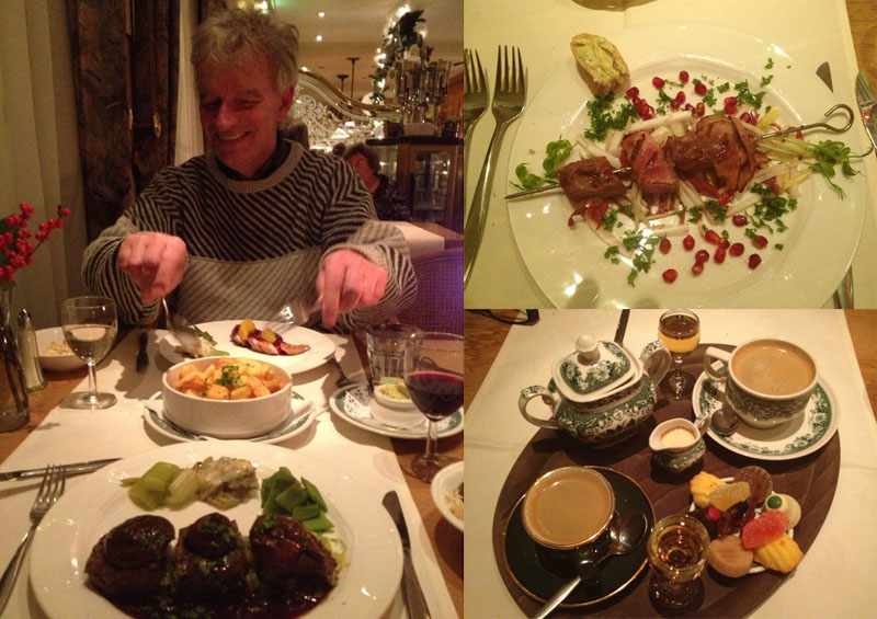 Dinner with Lambert