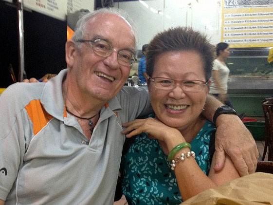 Pat and me