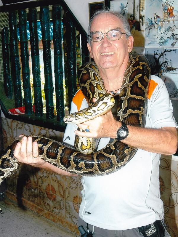 Me and python