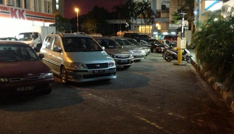Parking Malaysian style