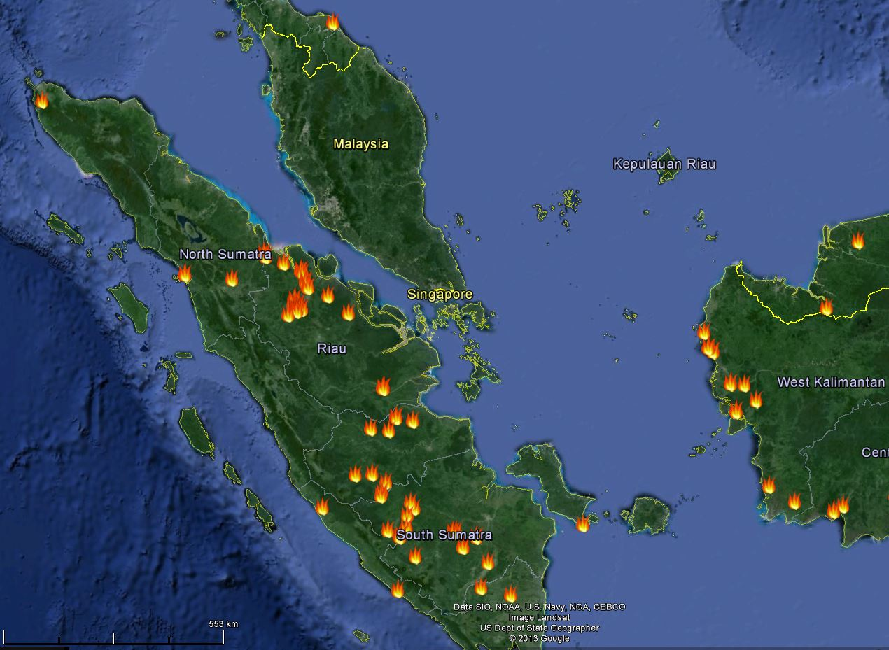 NASA hotspots