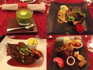 Haute Cuisine in les Banquettes Rouges, Blois