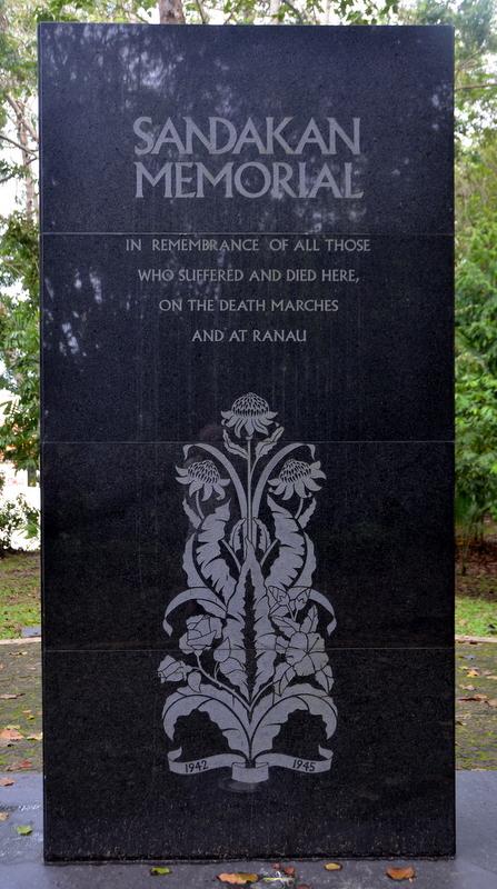 Sandakan War memorial