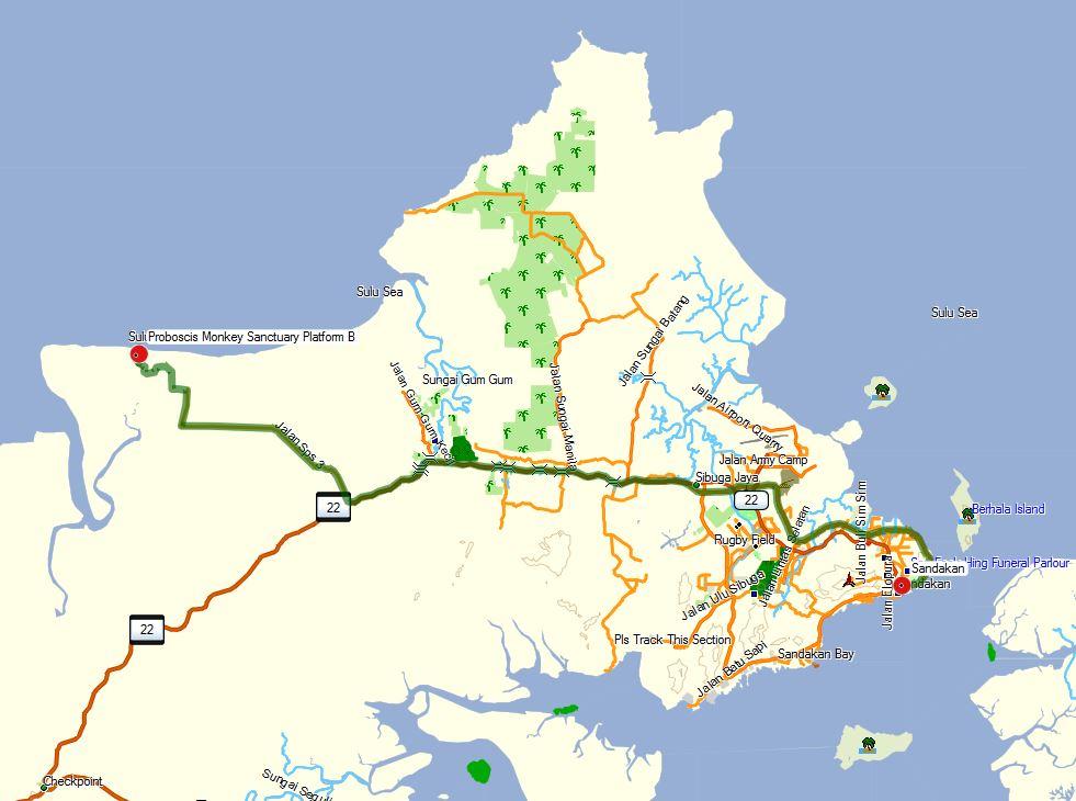 Sandakan_map