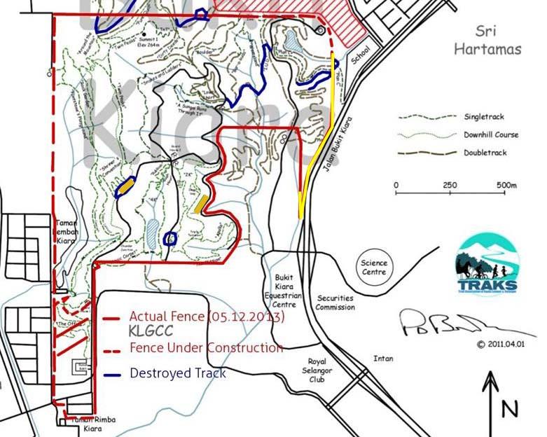 Kiara Map