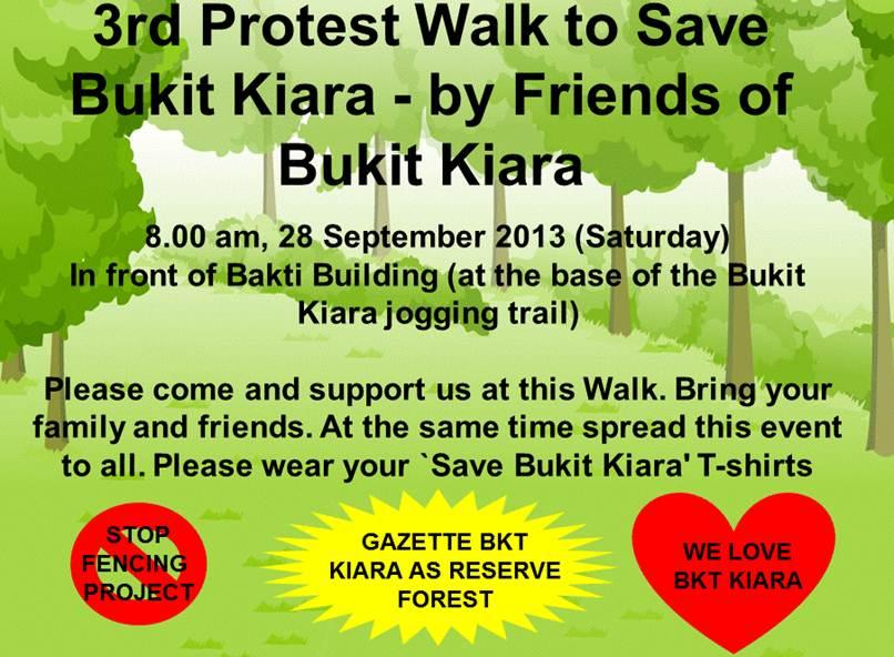 Protest walk