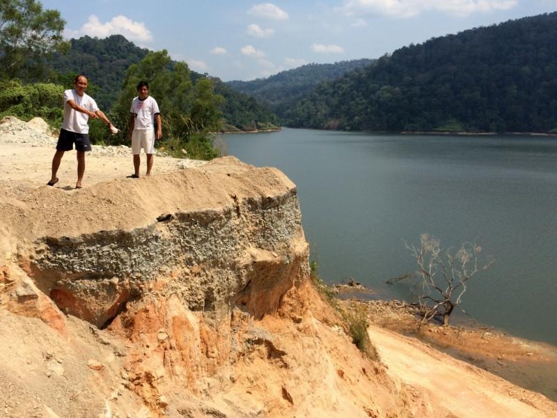 Semeniyeh landslide