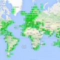 Marine traffic all over the world