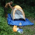 Eddie's one man tent