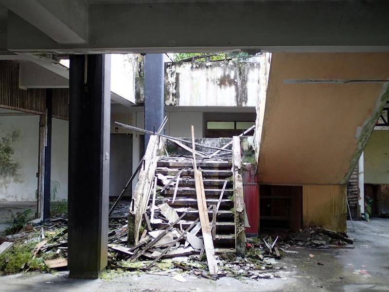 Ruin of the Casuarina Inn