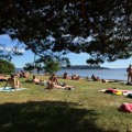 The nude beach of Oslo