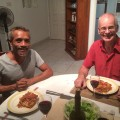 Dinner with Rahim and Paul
