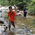 More river trekking