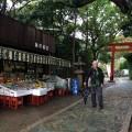 Restaurant near the temple
