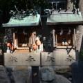 Two mini shrines