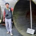 Old Sake barrels