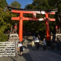 The entrance torii