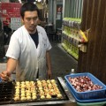Squid dumplings