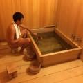 The hot spring bath