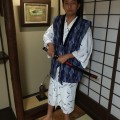 Aric as Samurai