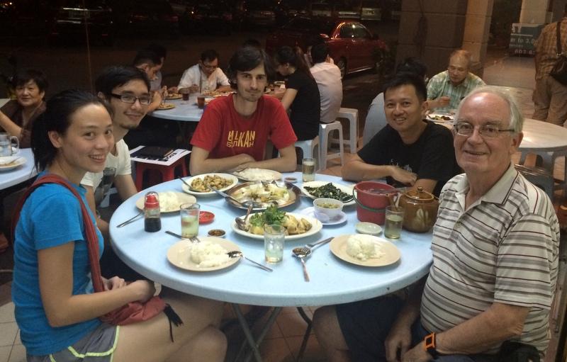 Dinner withCaroline