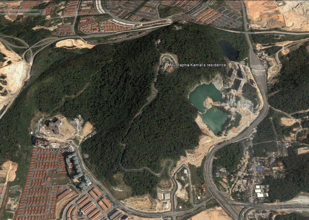 Bukit Lanjan before
