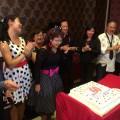 Zen and birthday cake