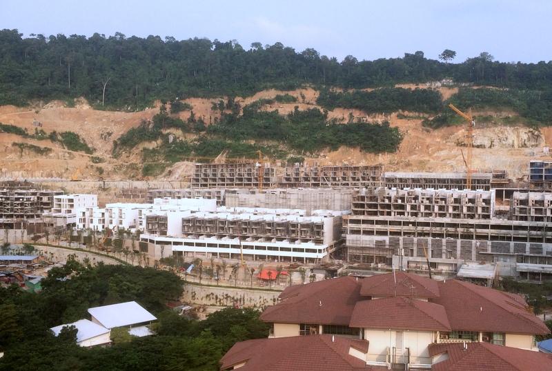Bukit Lanjan now