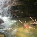 The Kanching top fall