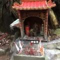 Shrine near the fall