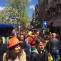 A big crowd