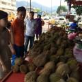 Bayan Lepas durian stall