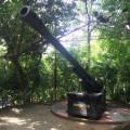 Replica of a cannon
