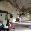 Inside a barrack