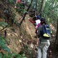 One steep part