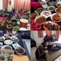 Nice company and food