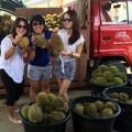 So many durians