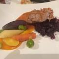 Main course. Pork meat