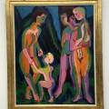 Drei nackte Frauen mit Kindern  1925