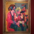 Kirchner, Girl with Child (1919)