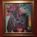 Kirchner, Still life with figures (1912)