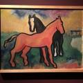 H.N. Werkman, Two Horses (1937)