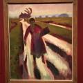 Jan Altink,  Koopvrouw op landweg (1923)