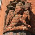 decorations in brick