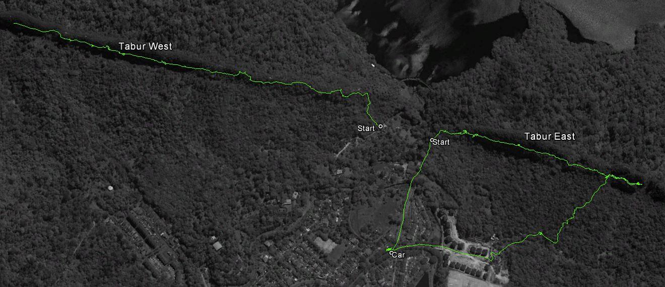Quartz ridge_trails