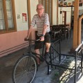Dutchman on a bicycle