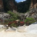 Quarrying is still going on