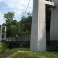 Suspension bridge, unused